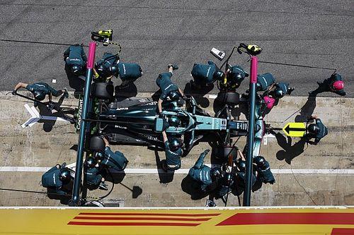 İspanya'da en hızlı pit stopu Aston Martin yaptı