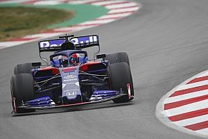 F1合同テスト3日目:トロロッソのクビアトがトップタイム! レッドブルは5番手