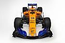 McLaren представила синьо-жовтий болід 2018 року