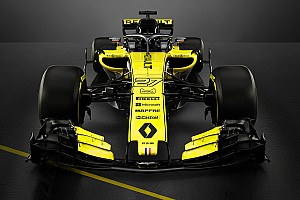 Renault launches its 2018 F1 challenger