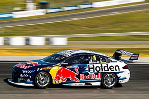 Supercars Practice report Perth Supercars: Whincup fastest, McLaughlin forced into Q1