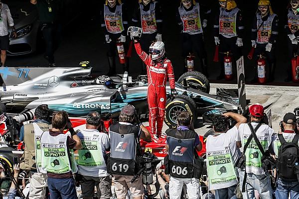 L'histoire derrière la photo - Vettel et Ferrari retrouvent le succès