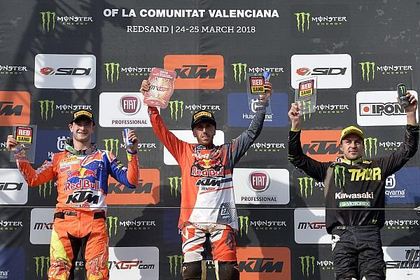 Mondiale Cross MxGP Gara Cairoli batte Herlings in Spagna e si prende la
