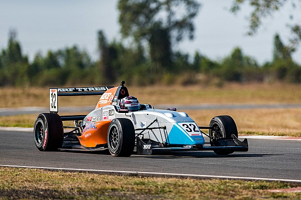 Indian Open Wheel Race report Chennai MRF: Martono wins crash-filled Race 2