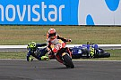 Marquez: Attempt at passing Rossi was nothing