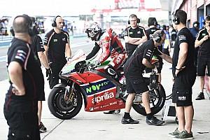 MotoGP Preview Aprilia optimiste à l'approche des manches européennes