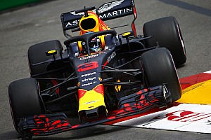 Monaco GP: Red Bull in control as Ricciardo tops FP2