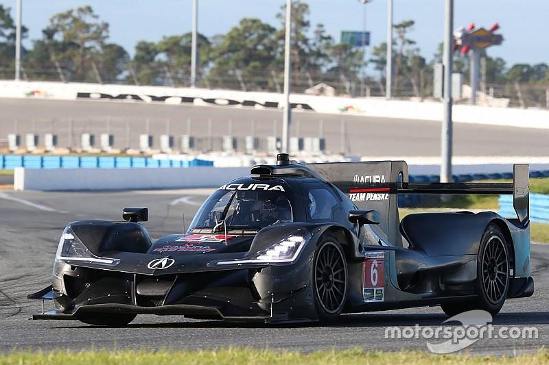 """Penske-Acura testet in Daytona: """"Unfassbare Standfestigkeit"""""""