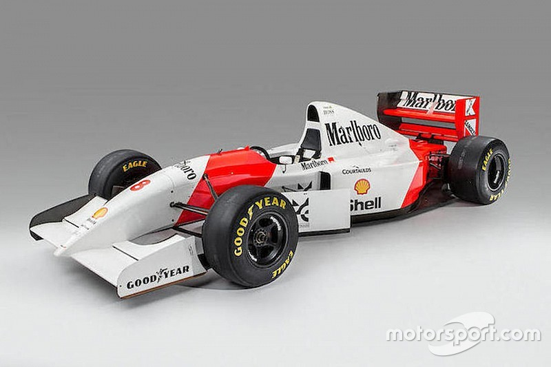 McLaren von Ayrton Senna für vier Millionen Euro versteigert