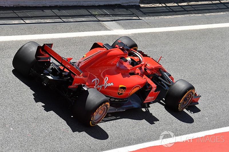 "Vettel: Ferrari would've been ""worse off"" on standard Pirellis"