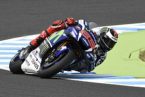 MotoGP Practice report Motegi MotoGP: Lorenzo heads Dovizioso and Vinales in crash-filled FP2