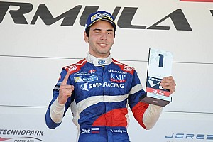 Formula V8 3.5 Race report Jerez F3.5: Isaakyan wins as title rivals Dillmann and Deletraz collide