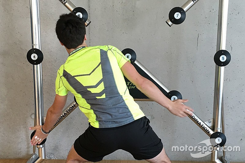 Fitness focus: What it takes off-track to stay on the road to F1
