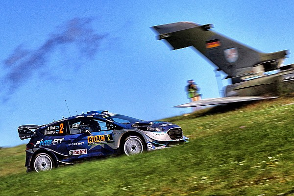 Тянак принес Ford первую победу на Ралли Германия