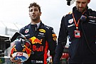 Formula 1 Ricciardo caught out by