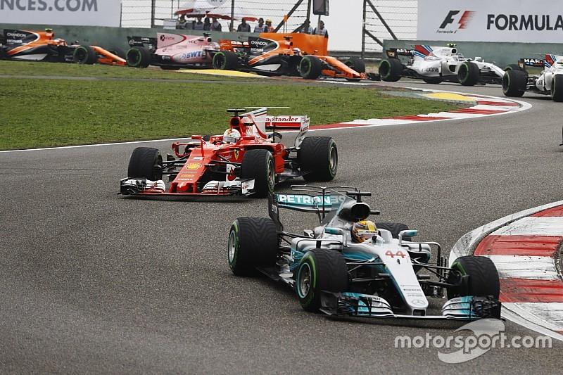 """【F1】ハミルトン「ベッテルが背後に来た時""""レース""""が始まった」"""