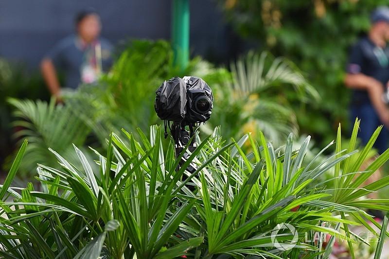 Sikeresen tesztelte az új kamerarendszerét a Forma-1 Szingapúrban