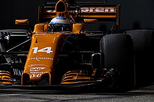 F1 速報ニュース マクラーレン2台がQ3進出。8位アロンソ「最初の仕事は達成できた」