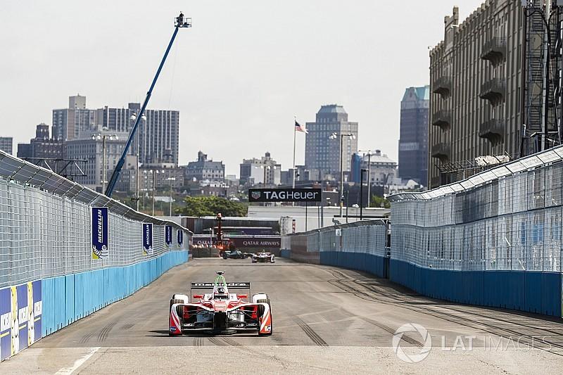 Rosenqvist dominó los ensayos de la Fórmula E en Nueva York