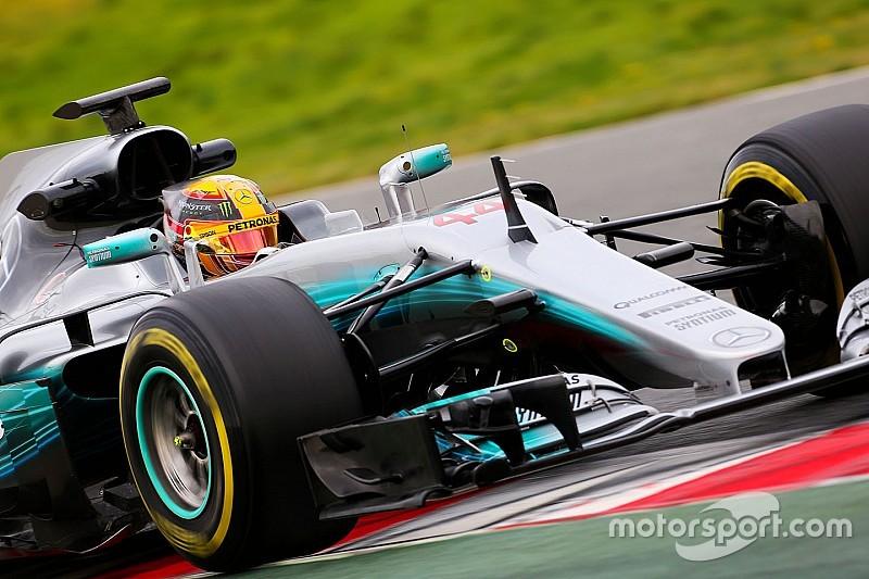 【F1】合同テスト2日目午前:ハミルトン首位。マクラーレン問題続く