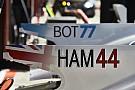 Фото: как теперь выглядят номера и имена гонщиков на машинах Ф1