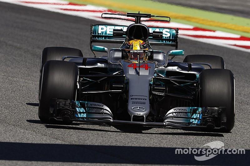 【F1】スペインGP FP2:ハミルトンが首位。メルセデス再び1−2