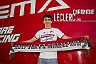 FIA F2 Chronique Leclerc - Le titre à trois courses du but!