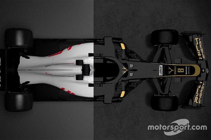 Vergleich Design Formel-1-Autos 2018 vs. 2019: Haas