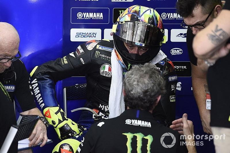 Rossi note des différences avec son nouveau coach
