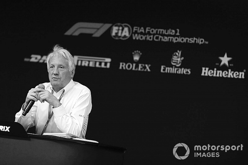 Charlie Whiting, 1952-2019