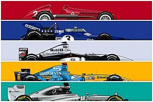 Özel haber: F1 tarihinin en çok yarış kazanan 86 aracı