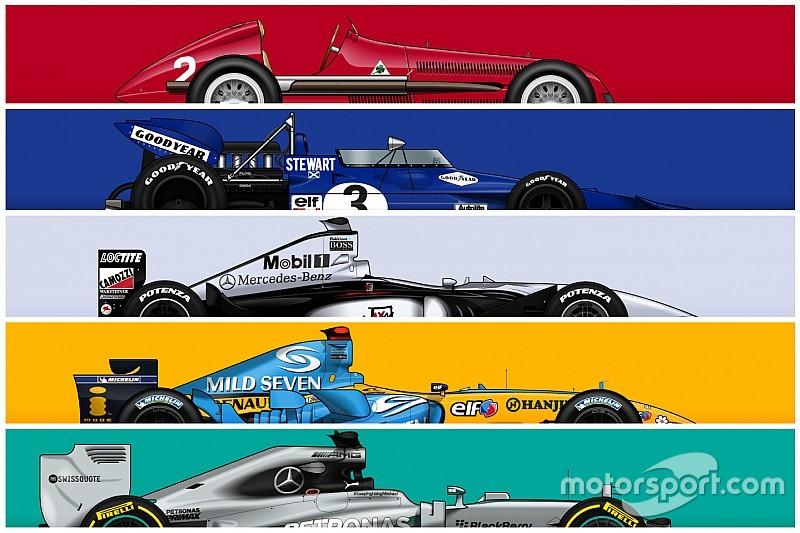 GALERI: Deretan mobil F1 tersukses sepanjang masa