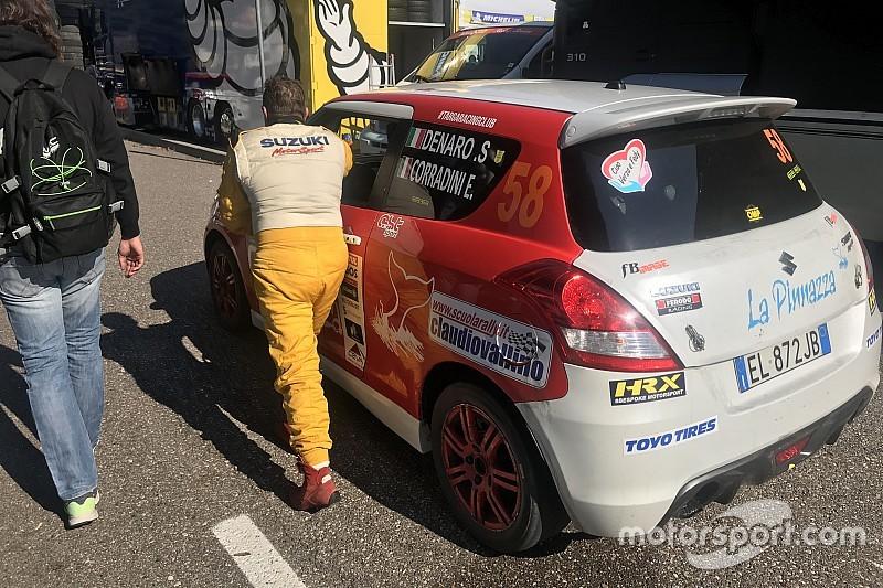 Suzuki Rally Trophy: Denaro teme per la sospensione anteriore