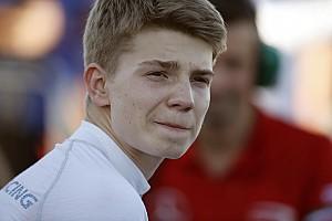 Шварцман присоединился к тестам GP3