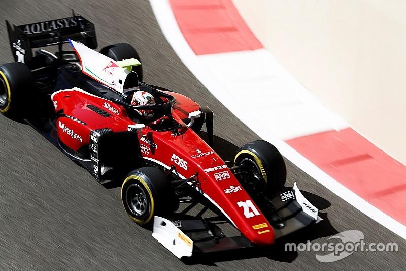 Fuoco vence bateria final da F2 em 2018 em Abu Dhabi