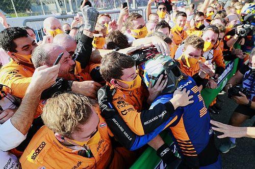 """Seidl a McLaren győzelméről: """"Ricciardo egyből elment aludni"""""""