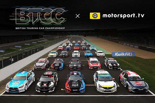 BTCC launches dedicated channel on Motorsport.tv