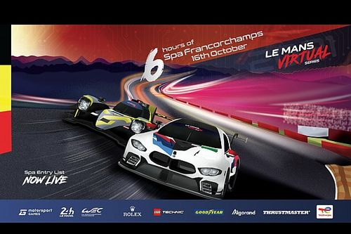LIVE: Le Mans Virtual Series - Ronde 2 op Spa-Francorchamps