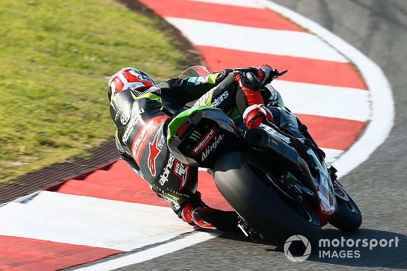 Portimao WSBK: Rea tops Friday practice, Davies crashes