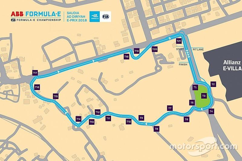 La Fórmula E presenta el trazado para la carrera de Riyadh