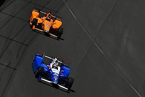 IndyCar Noticias Sato no tiene claro que Alonso fuera a ganar en Indy 500 sin romper motor