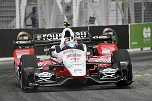 IndyCar Breaking news Rahal rueful after caution period ends victory challenge