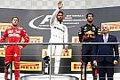 Ismét Ricciardo lett a nevető harmadik, és szó szerint