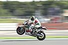 GALERI: Aksi pembalap MotoGP Inggris pada Jumat