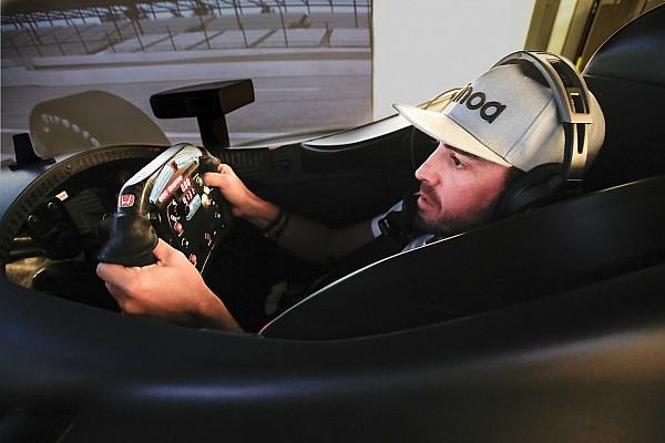 Alonso al simulatore IndyCar Honda per preparare la Indy 500