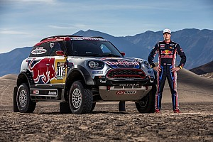 Dakar Breaking news Menzies forced to pull out of 2017 Dakar Rally