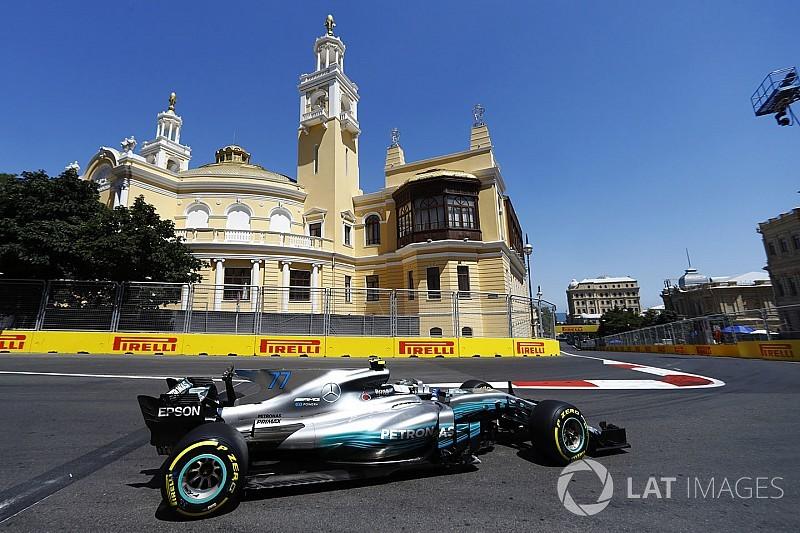 GP Azerbaijan: Bottas pimpin FP3, Vettel-Verstappen bermasalah