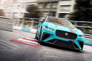 Autó Motorsport.com hírek Elektromos versenyszériát indít a Jaguar: I-PACE eTROPHY