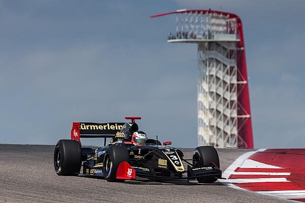 Formula V8 3.5 Austin F3.5: Binder scoresdominant lights-to-flag victory