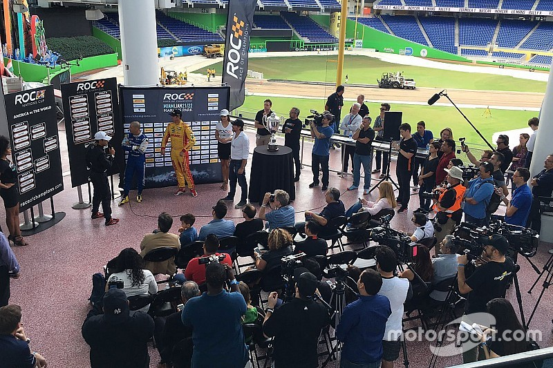 Loting Race of Champions in Miami: